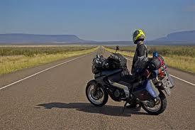 viajando de moto