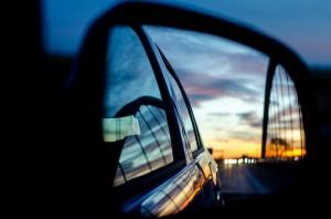 Espelho do retrovisor