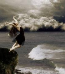 mar agitado